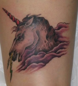 Unicorn tatouages