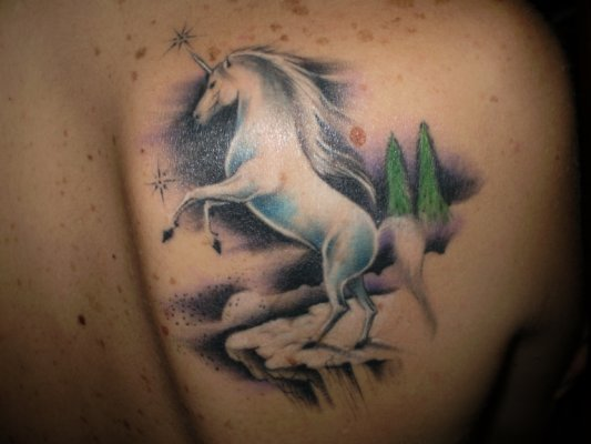 Unicorn Tattoos Unicorns Photo 23778452 Fanpop