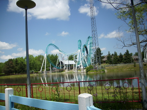 Vekoma Boomerang at Darien Lake - rollercoasters Photo