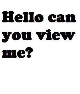 View me!
