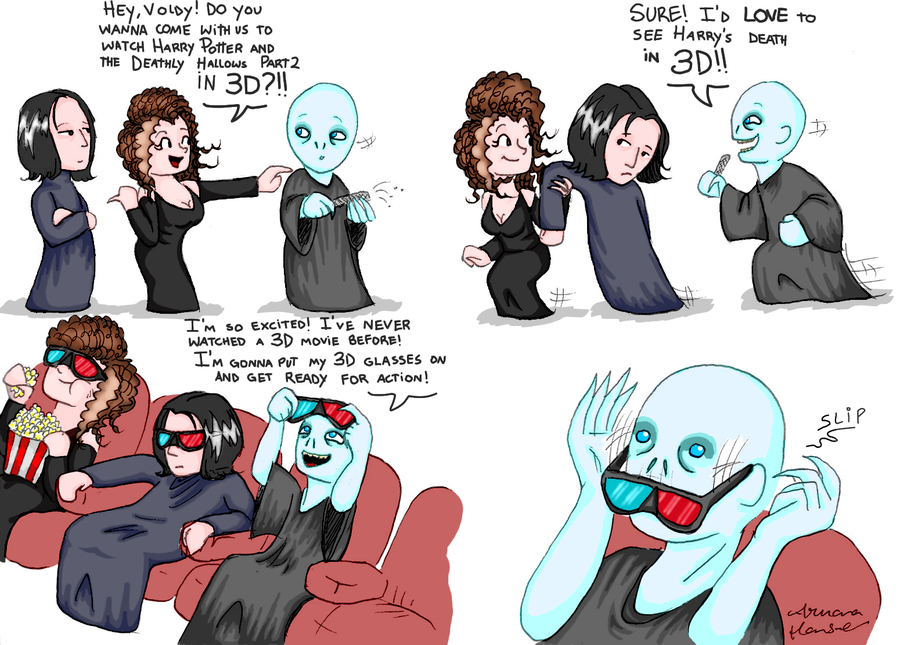 Voldemort goes to the cinema