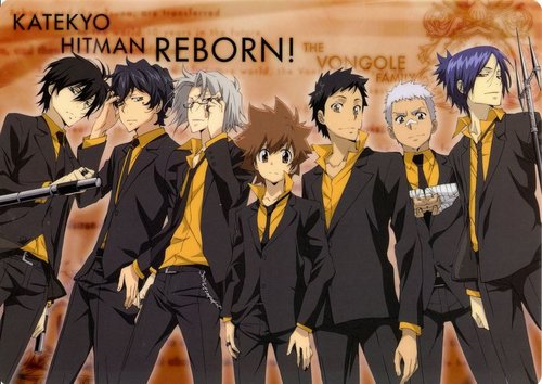 Tutor Hitman Reborn! wallpaper entitled Vongola Family~