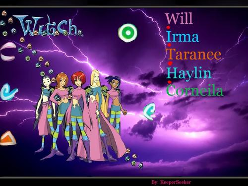 W.I.T.C.H Posters