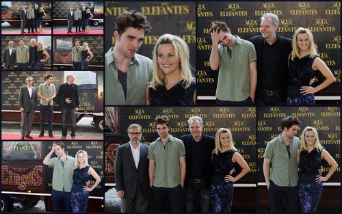 Robert Pattinson wallpaper titled Water for Elephants Barcelona press conference