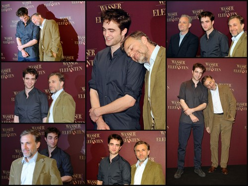 Water for Elephants Germany press conference