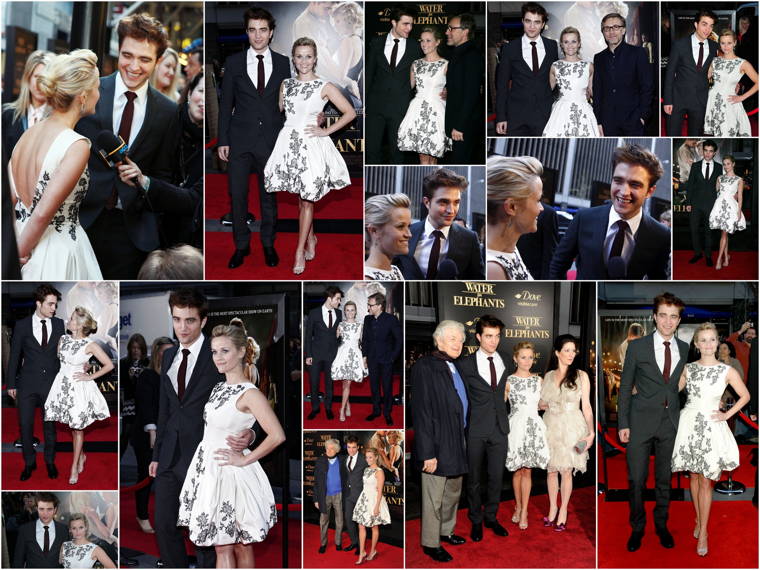 Water for Elephants NY Premiere