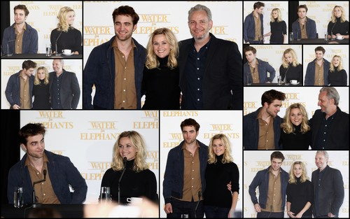 Water for Elephants Sydney press conference