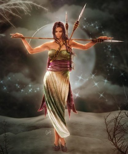 Fantasy wallpaper called Wiccan Archer