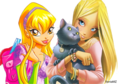 Winx and W.I.T.C.H. Mixx
