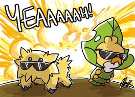 YEAAAAH!! Joltik and Sewaddle