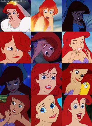 ariel many faces