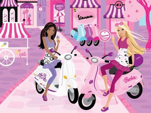 barbie and her دوستوں