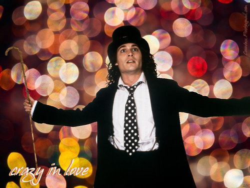 Benny and Joon wallpaper possibly containing a well dressed person, an outerwear, and a business suit entitled crazy in love