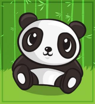 cute panda - cartoon-pandas Fan Art