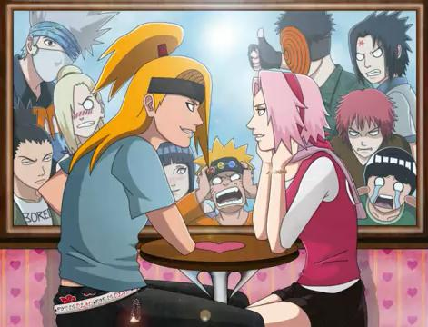 deidara and sakura