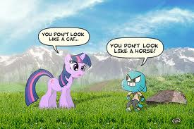 gumball and my little pony