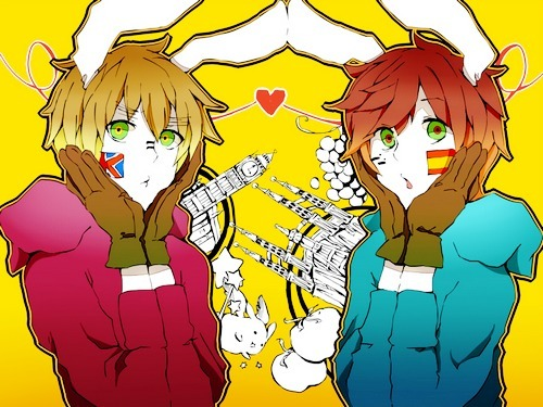 Хеталия characters