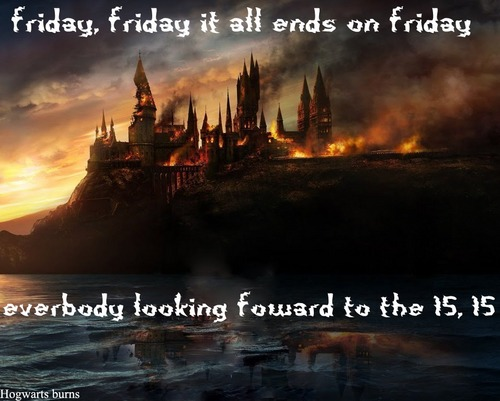 hogwarts burning