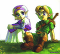link and zelda - link photo