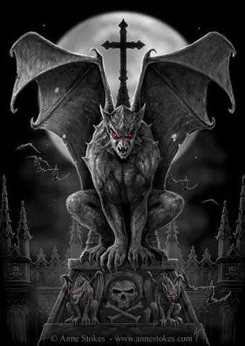 mean gargoyle - after-dark Photo