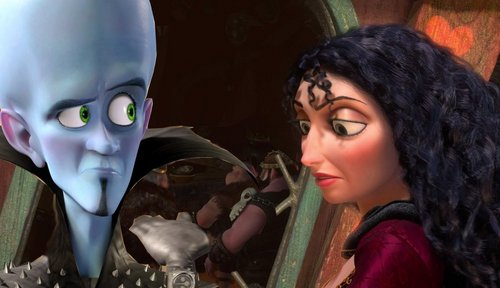 megamind and gothel