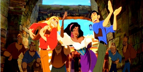 miguel, tulio and esmeralda