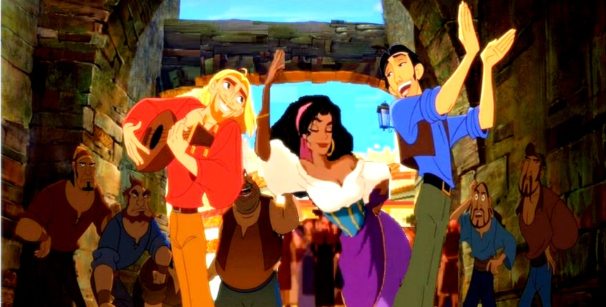 miguel, tulio and esmeralda