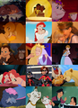 mothers and kids - disney-couples photo