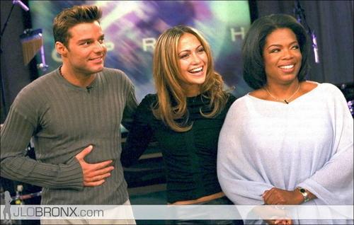 oprah 1999 jennifer lopez, ricky martin
