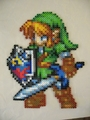 perler beads link - link photo