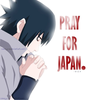 pray for japan - uchiha-sasuke Icon