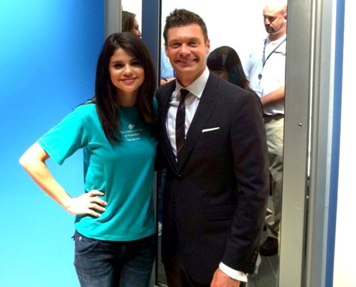 selena gomez with ryan seacrest - selena-gomez Photo