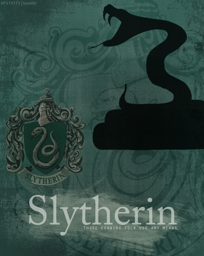 slytherin <3