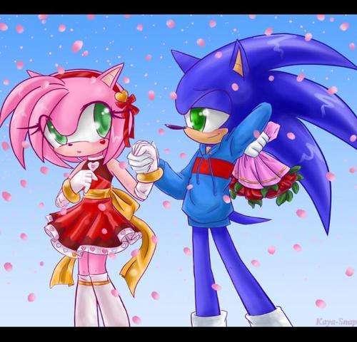 Sonic e Amy