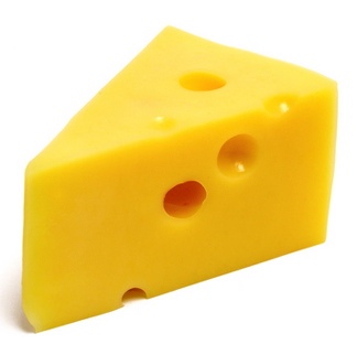 swiss cheese!