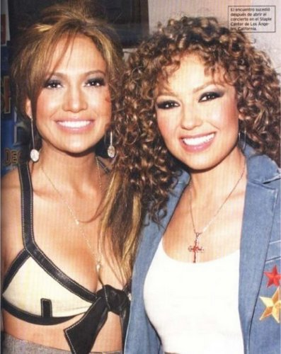 Thalia & jennifer lopez 2003