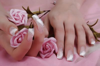 Nails, Nail Art wallpaper possibly containing a rose, a bouquet, and skin entitled wao,nails