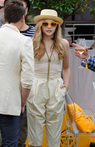 Chloe Moretz: The Veuve Clicquot ginto Cup Final