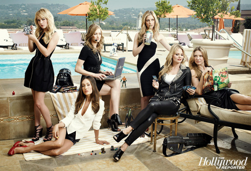 'Women Of Comic Con' Group foto ~ Featuring Anna Torv