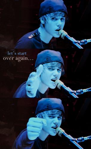 """""""let's start over again…"""""""