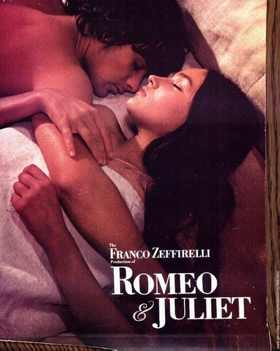 1968 Romeo & Juliet DVD Cover AND Posters