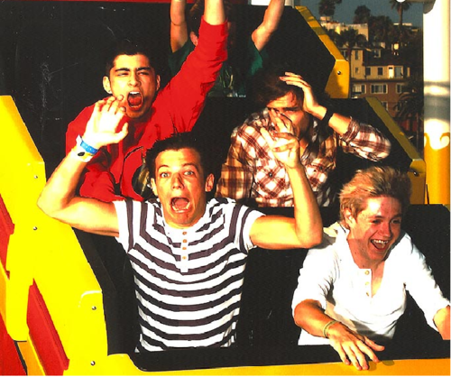 1D = Heartthrobs (Enternal Love) On Rollercoaster Ride Bless!! 100% Real ♥