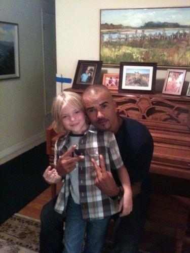 7.02 Proof. Shemar & guest actor Paul Butler
