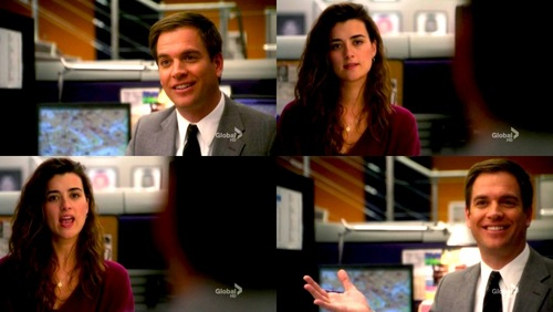 NCIS wallpaper containing a business suit titled 7x18 Ziva & Tony