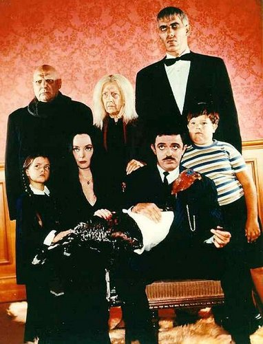 The Addams Family 1964 wallpaper with a business suit, a well dressed person, and a dress suit titled Addams Family