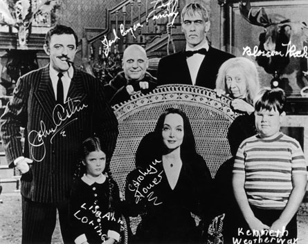 The Addams Family 1964 Обои called Addams Family