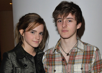 Alex and his sister Emma