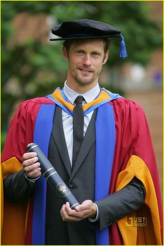 Alexander Skarsgard: Honorary Doctorate Degree!