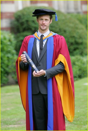 Alexander Skarsgard: Honorary Doctorate Degree!