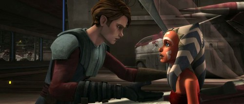 Anakin,Ahsoka and Obi-wan
